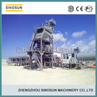 Movable Asphalt Mixing Equipment, 40-160TPH hot mix compulsory type mobile asphalt hot mix plant