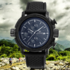 skone high quality fashion silicone quartz wrist Sports watch for men