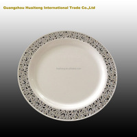 Plastic plates,silver plated tableware importer
