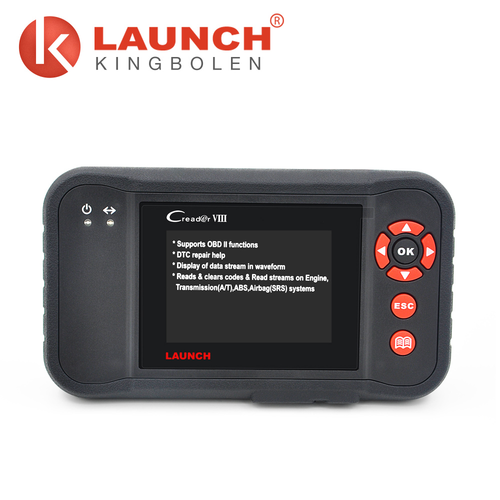 Launch creader viii CE FCC ROHS 12V automatic transmission code reader