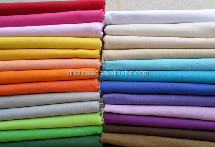 100% cotton material Combed Yarn Type dyeing fabric