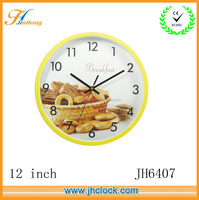 Round gift wall clock for promotional purpose