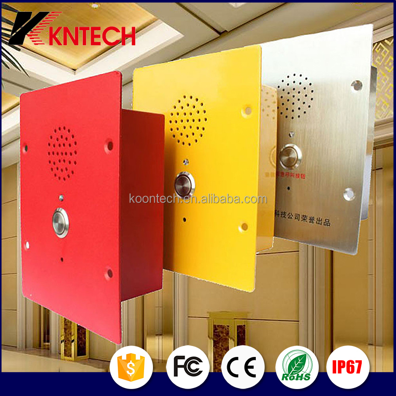 Plant Communication System accessories intercom telephone KNZD-11 emergency telephone