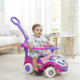 Kids Push Car Plastic Ride On Baby Toy Car with light and music Foot to Floor Baby Swing Car wih Handle