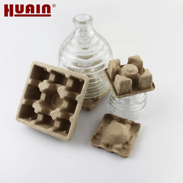 Eco Friendly Molded Pulp Tray Packaging