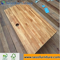 African Solid Wood Slab Table Solid