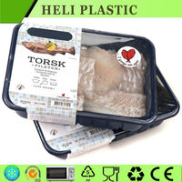 Disposable Plastic frozen meat/beef/sheep container