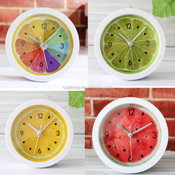Alarm Clock Super Mute Mini Table Clock Antique Wooden Quartz Desktop Alarm Clocks Creative Personality Battery Table Clocks