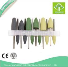 dental silicone polisher burs/ rubber polisher/acrylic polisher dental abresive materials