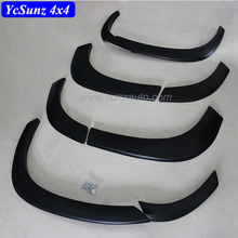 Montero accessories OEM design Fender Flare ABS Quality Matte Black For Mitsubishi pajero sport 2016