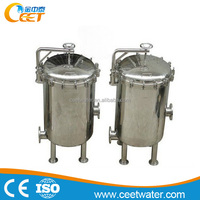 Micron Filtration filter bag housing stainless steel material