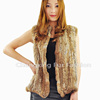 CX-G-B-99D Wholesale Fashion Animal Knitted Vest Rabbit Fur Vest ~ New Arrival