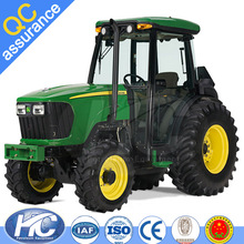 Tractor agriculural machinery 60 HP hydraulic farm track tractor / farming tractor with cabs