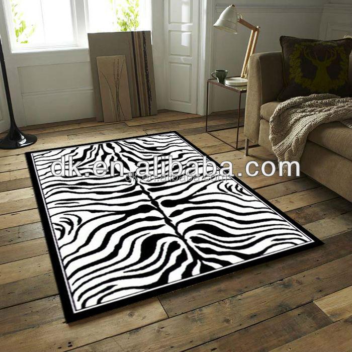 Zebra Printed Rug Buy Zebra Printed Rug Home Goods Area
