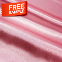 Free Sample Polyester Mesh Knitted Satin Milk Pure Woven Silk Fabric