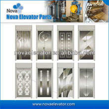 Fashion Design Passenger Elevator Door Plate, Panoramic Elevator door Panel, Lift Landing Door