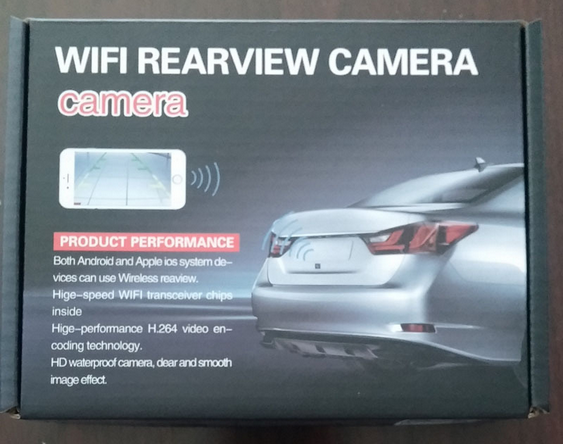 2016 newest car wifi backup camera
