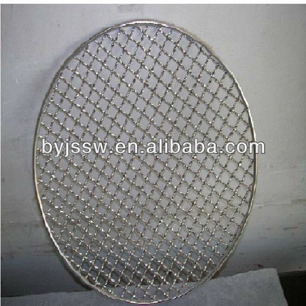 round BBQ mesh/square barbecue bbq wire grill/rectangle BBQ cooking wire net