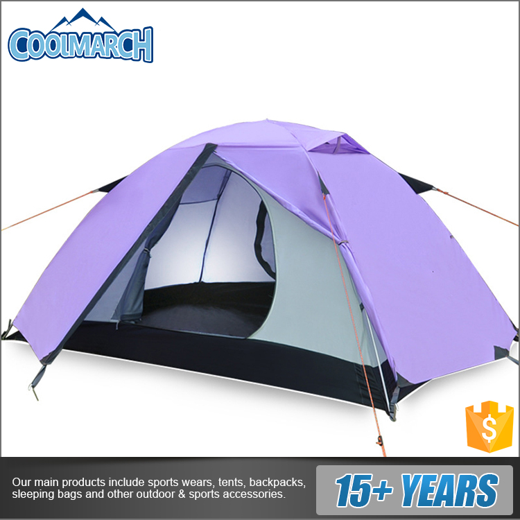Cheap price rainproof heavy duty large camping tents for 3 person