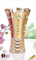 glass decoration vase