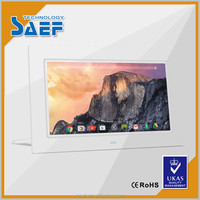 10.1 Inch WSVGA wall mounted lcd monitor android advertising player