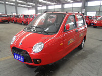 3-wheel passenger tricycle for taxi use/ cheap gasoline car with 4 seats