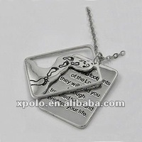 Fashion Letter Layered Pendant Alloy Choker Necklace