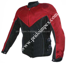 Ladies Textile Motorbike Racing Jackets / PI-MJ-47