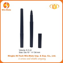 slim and long black factory supply wholesale empty lip pen