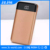 JZJIE external power bank 10000mah, LED display universal powerbank, mobile power supply for all smart phone