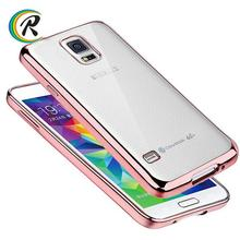 Mobile Phones for samsung note 3 case for Samsung S4 S5 high quality emoji mobile phone shell plating