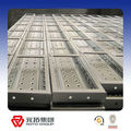 Good quality Galvanized scaffolding steel toe board/steel plank manufacturer