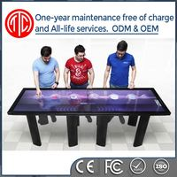 32 inch 42 inch 46 inch touch screen fashion design led advertising game player touch table
