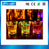 Factory price plastic juice cup transparent plastic led cup