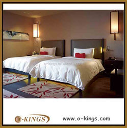 Low price design twin-bed room hotel furniture set for sale