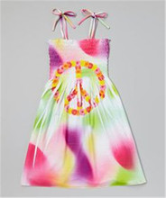 Sublimation Printing Fashion Fancy Dress Competition For Party Wear Kids Girl Dress
