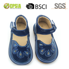 Wholesale Baby Leather Shoes Fashion Baby Squeaky Shoes