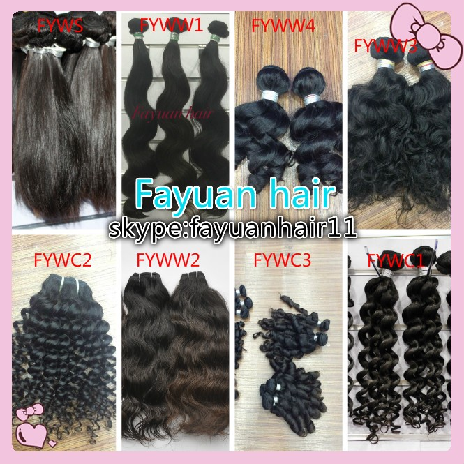 No chemical processed full cuticle intact can be dyed and bleached raw Cambodian virgin hair tangle free