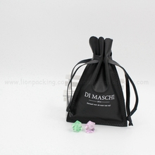 Custom Made Jewelry Pouches / Jewelry Drawstring Leather bag