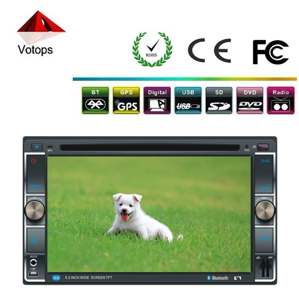 Accept small wholesale car dvd gps for ssangyong kyron