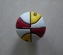 PU laminated size 6 basketball
