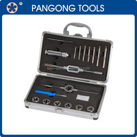 18PCS Hand Tap And Die Set with Case, Cheap Tool Set