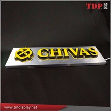 Factory Custom Design LED Advertising Indoor Signboard for Bar