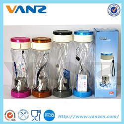 water bottle with tea filter