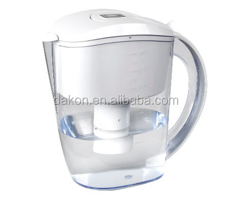Water Purifier Filtration System Alkaline Water Filter Pitcher with Active Carbon and Ion Exchange Resin