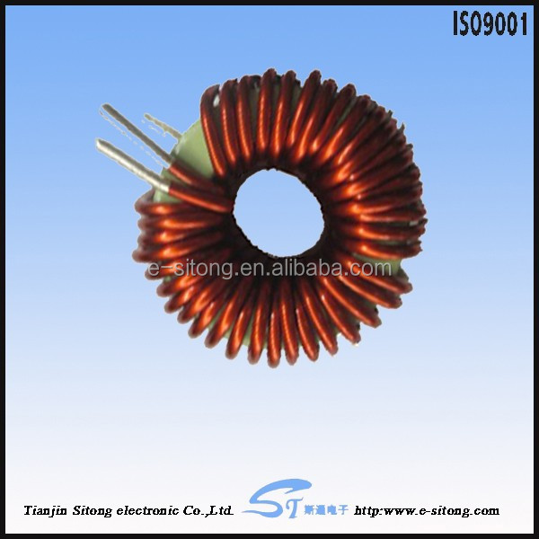 ferrite core 1 uh inductor Rohs complaint