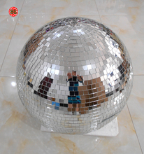 Diameter 20 30 40 cm foam mirror disco balls with ring to hanging