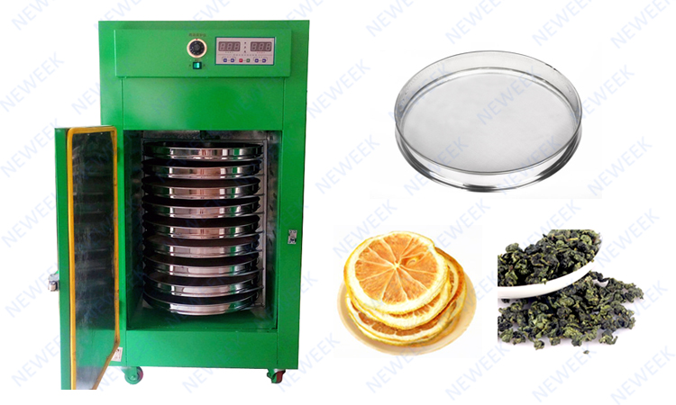 NEWEEK fish plantain chips commercial fruit flower drying machine