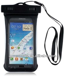 Universal Waterproof Case With Side Window for Apple iPhone 5, Galaxy S3, HTC One X, Galaxy Note 2 - IPX8 Certified to 100 Feet