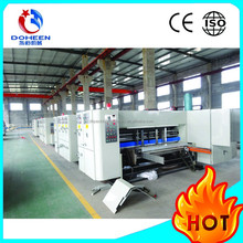 DoHeen Vaccum Bottom Transfer Printer Type Automatic High Speed Printing Slotting And Die-cutting Machine
